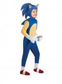 Fato de Sonic deluxe menino