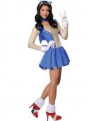 Fato de Sonic Mulher Adulto