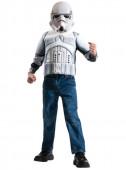 Fato de Stormtrooper musculado dos Star Wars