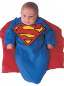 Fato de super homem bebé