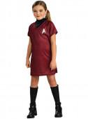 Fato de Uhura Star Trek para menina