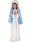 Fato de Virgen María menina