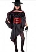 Fato de Zorro Menina