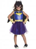 Fato deluxe de Batgirl com tule azul