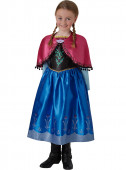 Fato deluxe Frozen Anna Disney