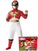 Fato Deluxe Power Ranger Megaforce com caixa