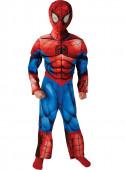 Fato deluxe Spiderman musculoso