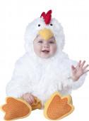 Fato deluxo  galinha para bebé