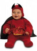 Fato Diabinho em Chamas para bebé halloween