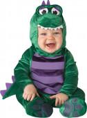 Fato dinossauro amoroso para bebé