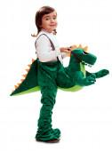 Fato Dinossauro Ride On para menino