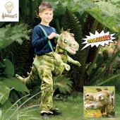Fato Dinossauro T-Rex Ride On Luzes e Sons