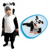 Fato Disfarce Panda Halloween
