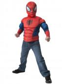 Fato Disfarce Spiderman musculoso