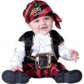 Fato do Capitão Piratita para bebé