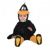 Fato do pato Daffy Duck bebé