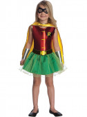 Fato do Robin Batman menina