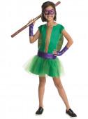 Fato Donatello Tartarugas Ninja meninas