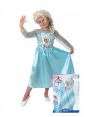 Fato Elsa Frozen com Peruca
