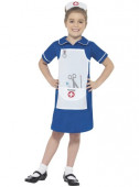 Fato Enfermeira de azul