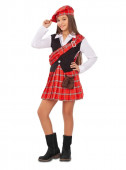 Fato Escocesa Menina