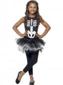 Fato Esqueleto com tule