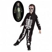 fato esqueleto fluorescente