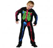 Fato Esqueleto Menino