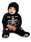 Fato esqueleto para bebé