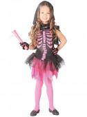 Fato Esqueleto Pink2