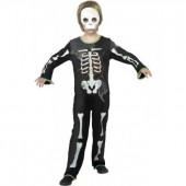 Fato Esqueleto soft halloween