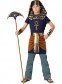 Fato Faraó triunfante para menino