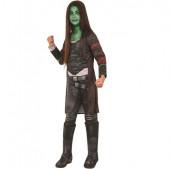 Fato Gamora Deluxe Guardiães da Galáxia 2
