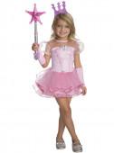 Fato Glinda a bruxa boa para menina