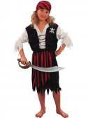 Fato Grande pirata para Menina