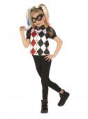 Fato Harley Quinn DC Super Heróis Girls clássica