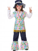 Fato Hippie c/Chapeu menina