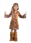 Fato Hippie Castanho Menina