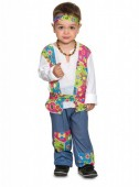 Fato Hippie festivaleiro para bebé