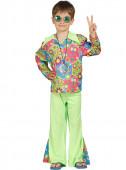 Fato Hippie multicolor menino