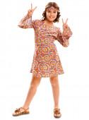 Fato Hippie psicodélica - menina