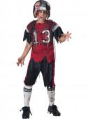 Fato Jogador de Rugby zombie para menino