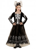 Fato Lady de Esqueleto halloween