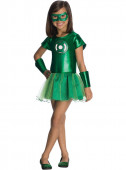 Fato Lanterna Verde DC Comics menina