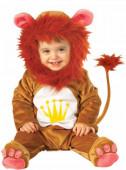 Fato leão peluche para bebé
