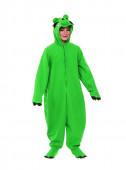 Fato Leonardo Angry Birds em Verde