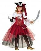 Fato Menina Pirata Luxo