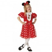 Fato Minnie Mouse Red Glitz