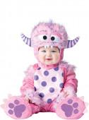 Fato Monstrinho Rosa para bebé
