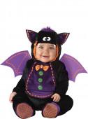 Fato Morcego Halloween para bebé